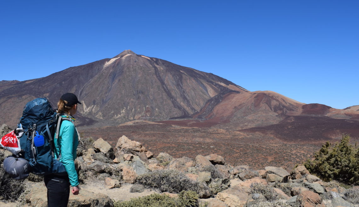 Hiking på Tenerife, Teide