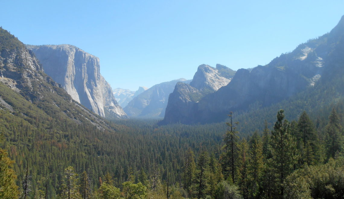 Tunnel View - vandre i Yosemite