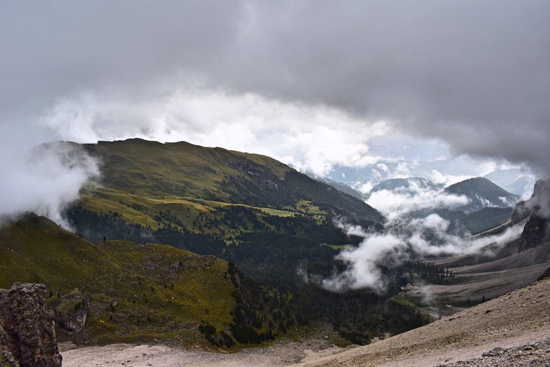 Hytte til hytte i Dolomitterne