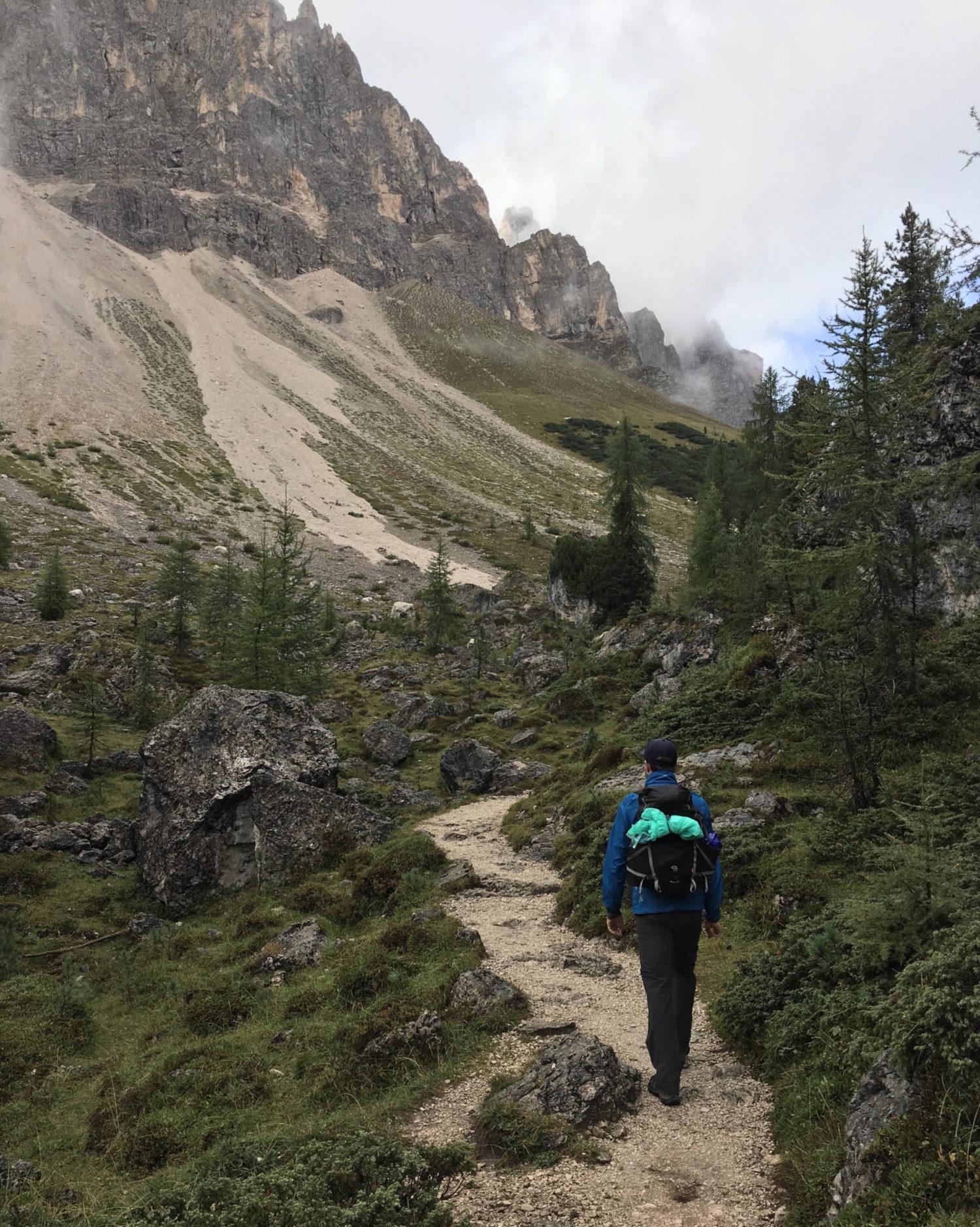 Hytte til hytte vandring i Dolomitterne