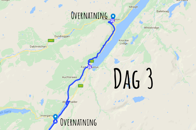 Great Glen Way dag 3