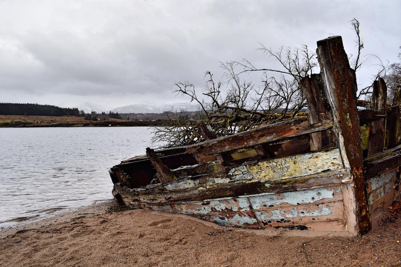 Great Glen Way shipwreck