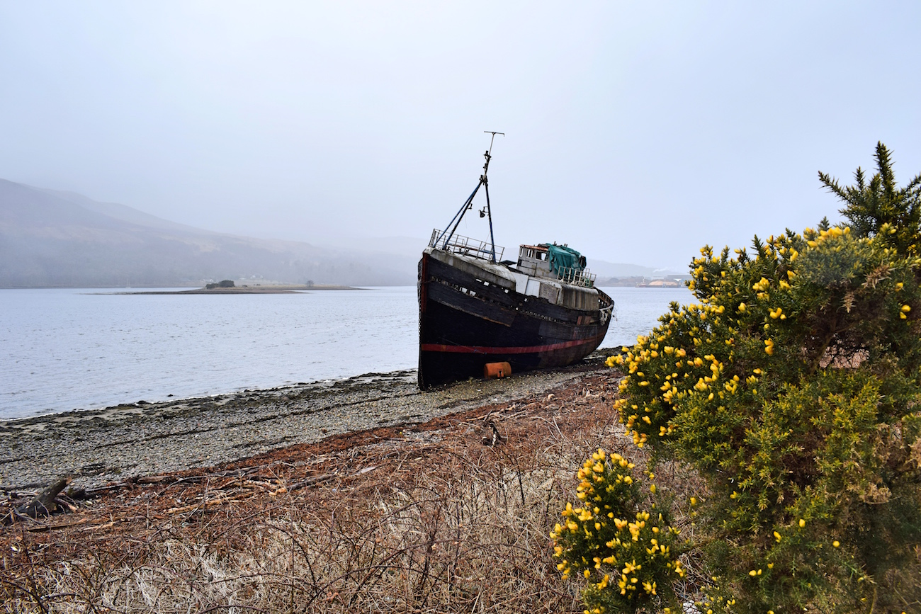 Great Glen Way shipwreck