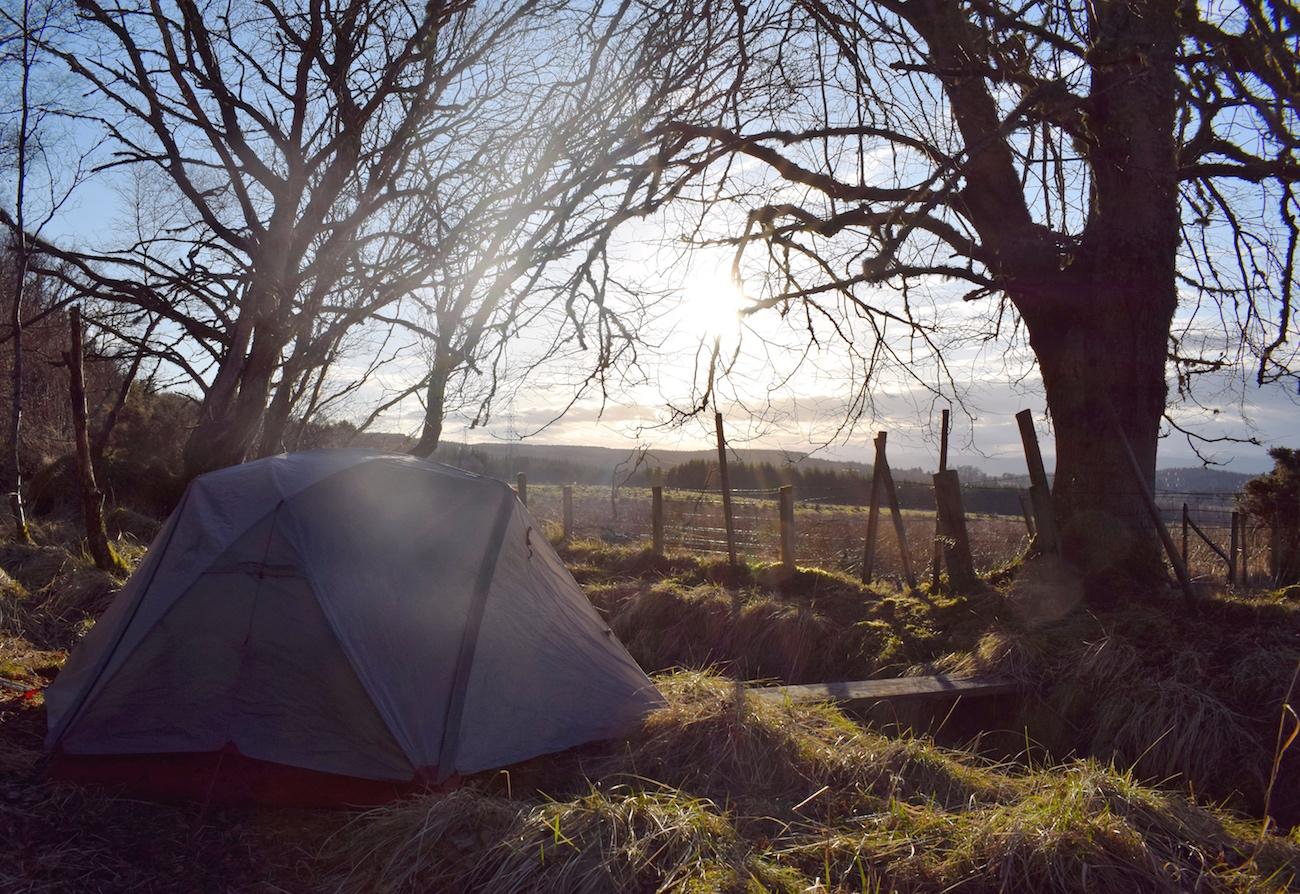 Great Glen Way Wild camping