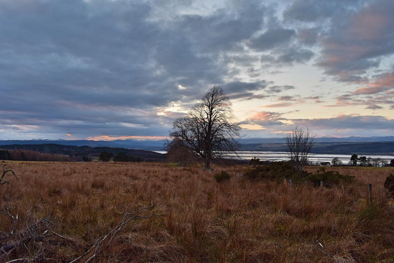 Great Glen Way sunset