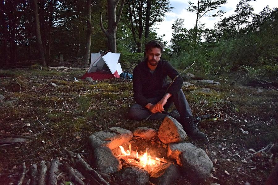 Skåneleden telt
