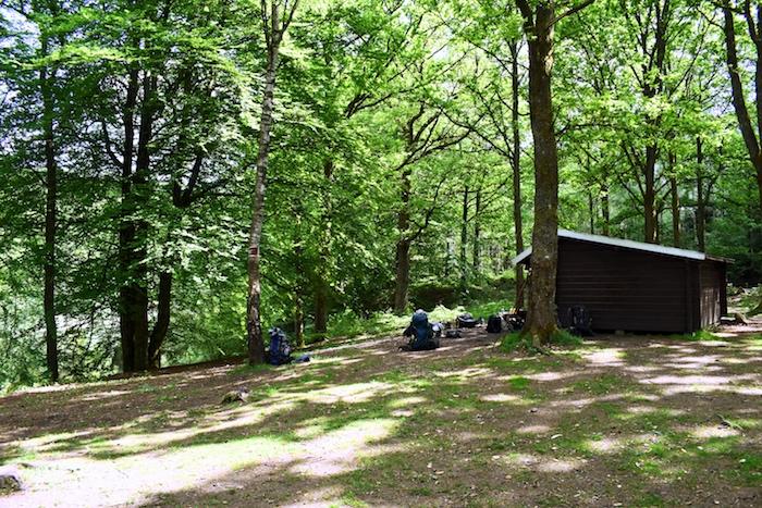 Klåveröd shelter