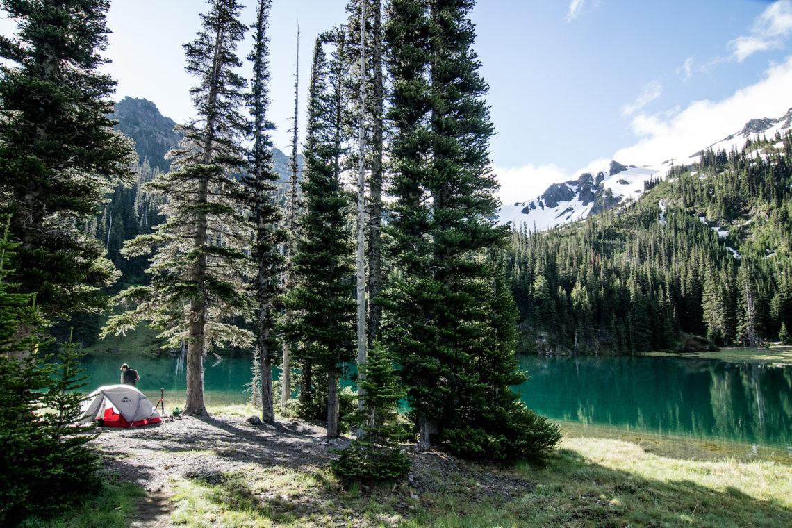 Moose Lake camping