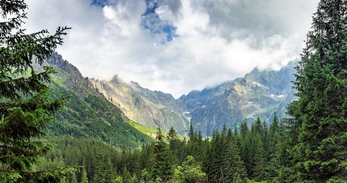Morskie Oko Tatra bjergene