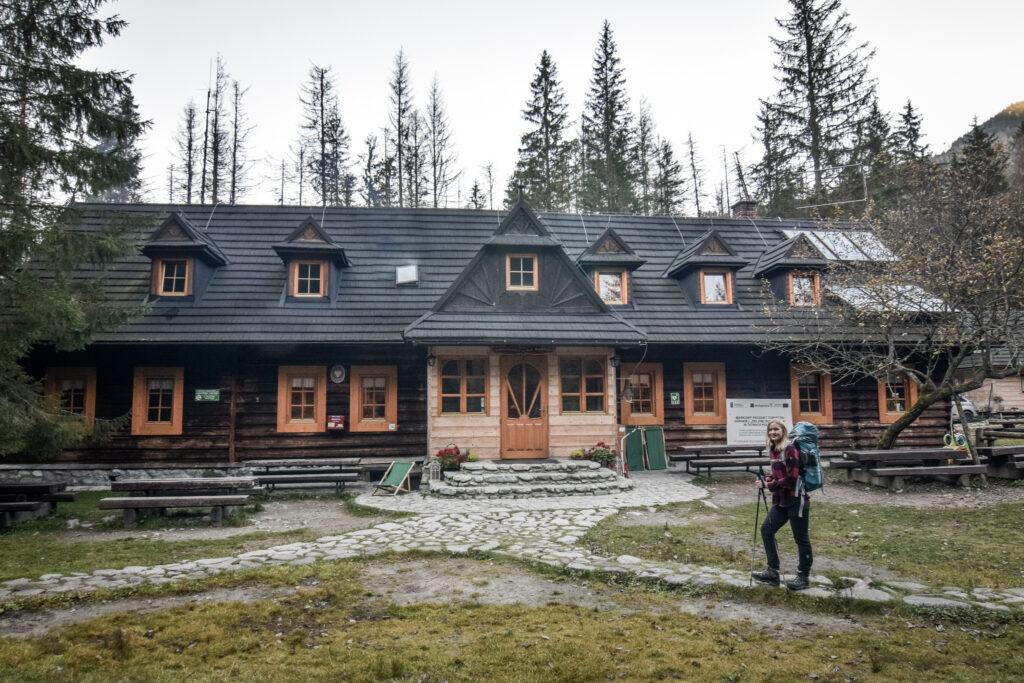 Hytten Dolina Roztoka i Tatrabjergene