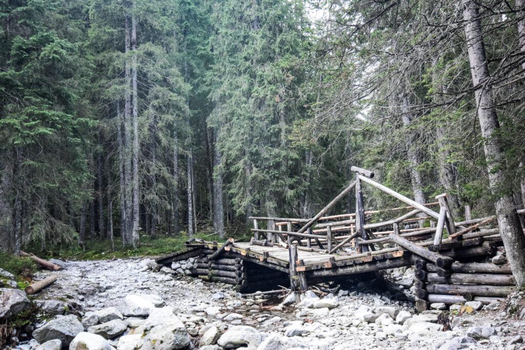 Hytte til hytte vandring i Tatrabjergene.