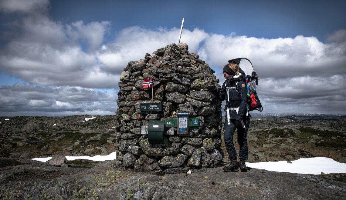 Vandretur til Skoræ i Sydnorge