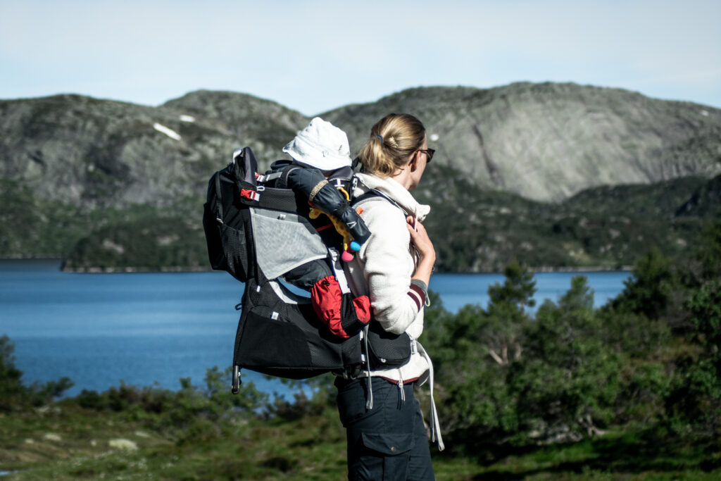 Vandreferie i Sydnorge med baby