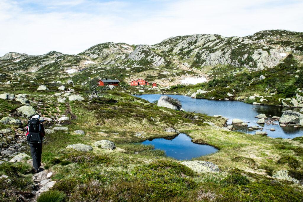Lakkenstova er en oplagt destination på vandreferie i Sydnorge