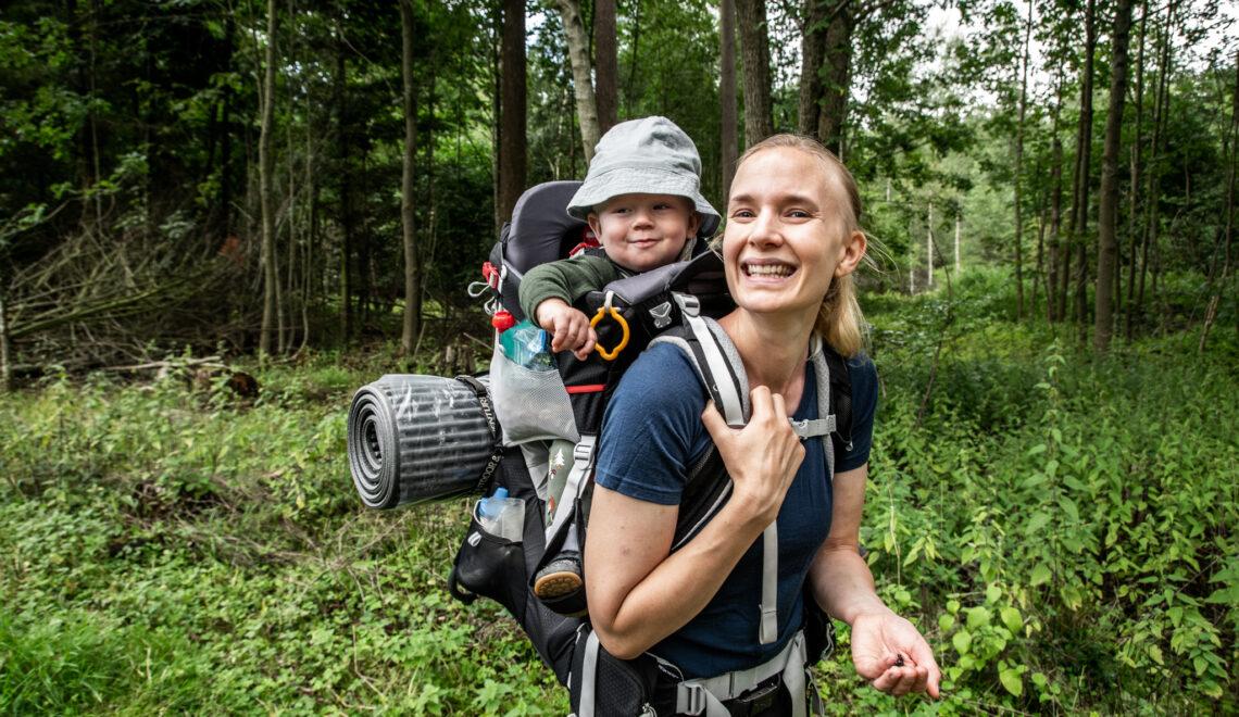 Mine bedste tips til at vandre med baby